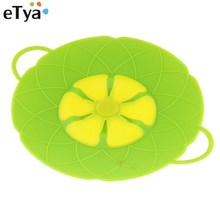 Flower Petal Spill Stopper Silicone Pot Lid Cover For Pan Cookware Cooking Tools Kitchen Accessories Fast Shipping