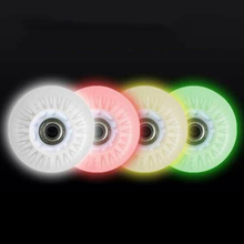 Flash Roller Wheels LED Light Sliding Skate Wheels 90A 72 76 80 8 Pcs/ Lot Slalom Braking Wheels SEBA Colorful LED Light