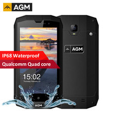 AGM A1Q IP68 Waterproof Shockproof Mobile phone 4G LTE 4GB RAM 64GB ROM MSM8916 Quad Core Android 7.0 4050mAh OTG NFC SmartPhone