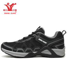 2017 free shipping xiangguan men's casual flat mesh travel breathable fashion comfortable brand low price high quality shoes(China)