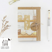 Card Lover variety shop postcard Bookmark greeting card Letter paper 1 lot = 1 pack = 30 pcs(China)