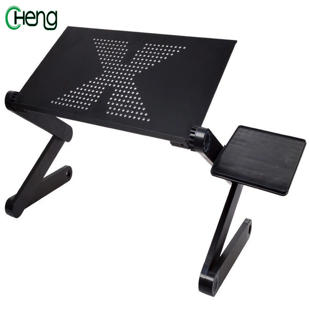 New 360 Degree Rotation Multifunctional Laptop Table Adjustable Foldable Notebook PC Desk High Quality Portable  PC Desk hot <br>
