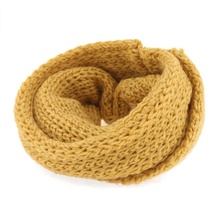 1 pcs Winter Baby Kids Warm Shawl Scarf Knitted Wool Neck Warmer For Christmas New Year Gift(China)
