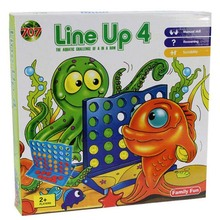 Connect Four Line up 4 chess game 3.5*26.5*27 cm Boxed intelligence board game(China)