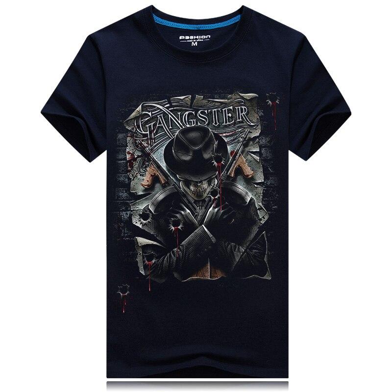 HTB18ZeyRpXXXXXtaFXXq6xXFXXXk - 2017 Summer New 3D T Shirt Men's Short-sleeve Fashion O-Neck animal T-shirt Printed Casual Navy blue Male Shirts Plus size 6XL