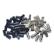 100pcs/lot MTB road mountain bike brake line cap 5MM speed line Bicycle Brake derailleur inner core Cable End Caps tips for Bike
