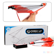 Power Up Electric Paper Plane Airplane Conversion Educational Toy Great Gift