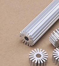 10pcs High quality LED lamp bead sunflower radiator 20*5*20mm round aluminum radiator circular aluminous profile custom for LED