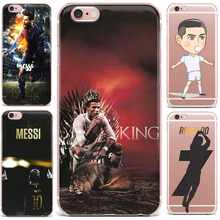 Case For Apple iPhone 7 6S 8 Plus X 5 7 Phone Case Football Star Case Cover Sports Series Latest style Patterned TPU Vintage(China)