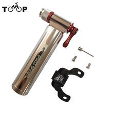 CO2 Inflator Bike Pump for Bicycle Tire Pump 120 * 26mm Cycling Air Pump for Road and Mountain Bikes Bomba De Bicicleta