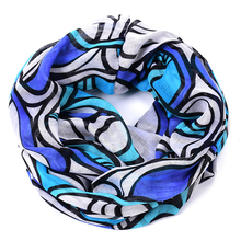 ellipse ring scarf women oval Paisley hijab foulard femme echarpe cachecol shawls and scarves sjaal summer style bufanda collar(China)