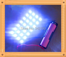 Free Shipping!!!  5pcs 5W 18650 lithium battery light board / DIY dLED Lamp / Night Market Light / stall lights