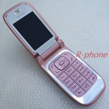 Refurbished Original Nokia 6131 Pink Mobile Phone 2G GSM Unlocked Flip Phone English Arabic Hebrew Russian Keyboard