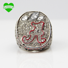 Free Shipping Alabama High Quality Replica 2012 National Championship Ring Size 11 for businessman gift