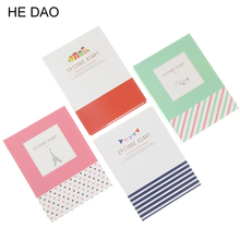 Korean Creative Tower Hardcover Combine Memopad Notepad Stationery Diary Notebook Office School Supplies With Pen 1pcs(China)
