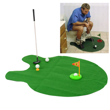 Golf Balls Toys Sport Games Toilet Mini-toilet Golf Recreational Sports Indoor Outdoor Toys Family Games Camp For Adults Kids