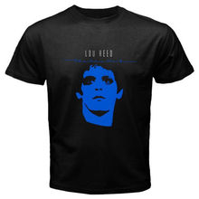 Lou Reed The Blue Mask Rock Music Icon Men's Black T-Shirt Size S M L XL 2XL Mens Shirts Short Sleeve Trend Clothing T Shirt