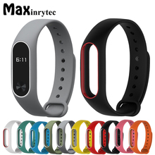 Buy Xiaomi Mi Band 2 Bracelet Strap Miband 2 Colorful Strap Wristband Replacement Smart Band Accessories Mi Band 2 Silicone for $1.23 in AliExpress store