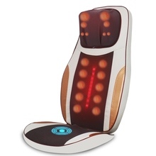 Luxury multifunctional 2015 Newest Hot sale free shipping Electric heated kneading auto shiatsu back massager cushion