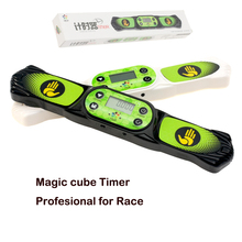High Speed Time Machine Magic Cube 2x2x2 3x3x3 4X4 Megaminx Competition Magic cubeTimer Clock Machine Sport Stacking Speed Timer(China)
