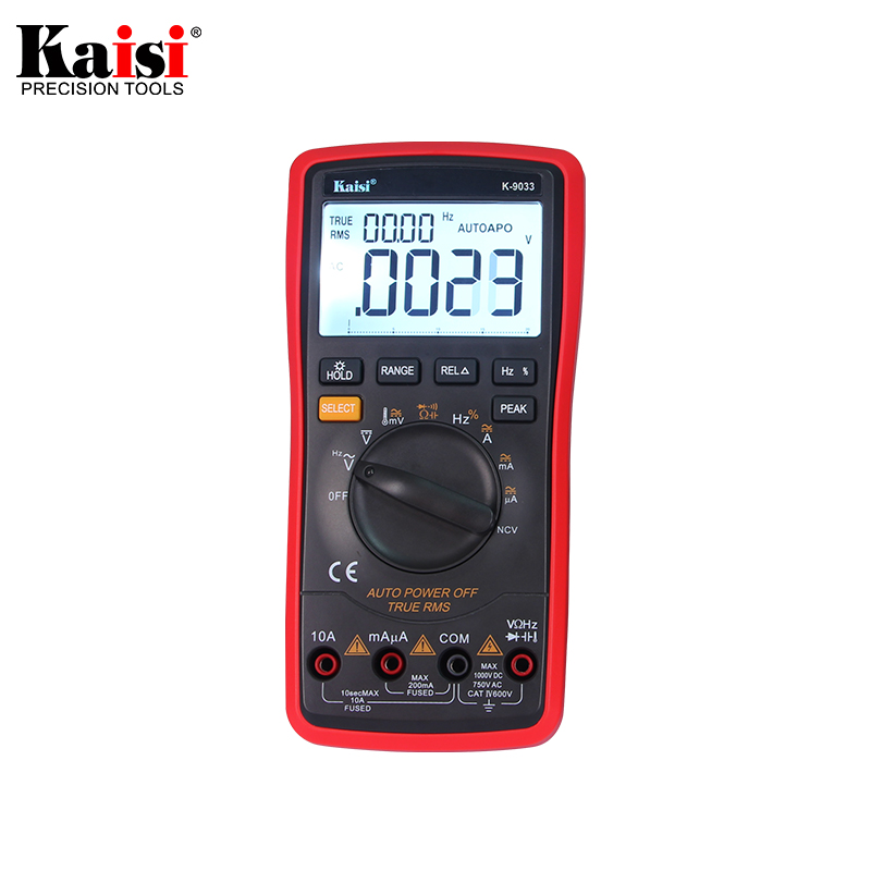Kaisi 20000 count High precision automatic measuring range digital multimeter true RMS digital capacitor temperature measurement<br>