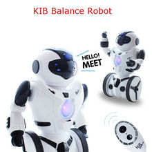 New JXD1016a KiB Remote Control RC Robot Intelligent Balance Wheelbarrow Dance Drive Gesture Battle Action Electric Toy cs TT313(China)