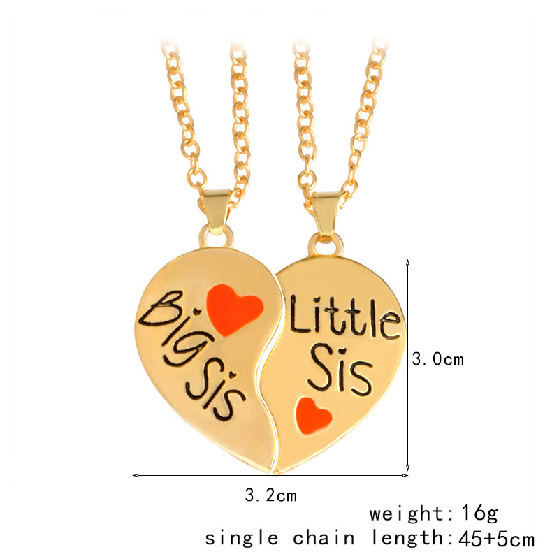 QIHE-JEWELRY-2pcs-set-Heart-Shape-big-sis-little-sis-Pendant-Necklace-2-Sister-Necklace-big(4)