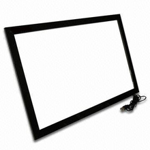 85 inch IR LCD TV touch screen overlay, 6 points industrial Infrared touch panel for monitor, IR touch screen frame