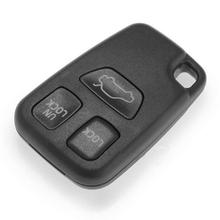Black ABS Replacement Remote Key Fob Case Shell Housing 3 Button for 2000 Volvo V70 Hot Selling