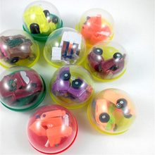 32 designs transformation Metamorphic car robot DISTORTION TOYS children kids girl boy mini Gashapon Capsule Toys baby toy gifts