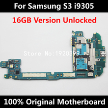 For Original Samsung Glaxy S3 i9305 16GB Motherboard 4G LTE Full Unlocked Mainboard With Chips Android OS System Logic Board(China)