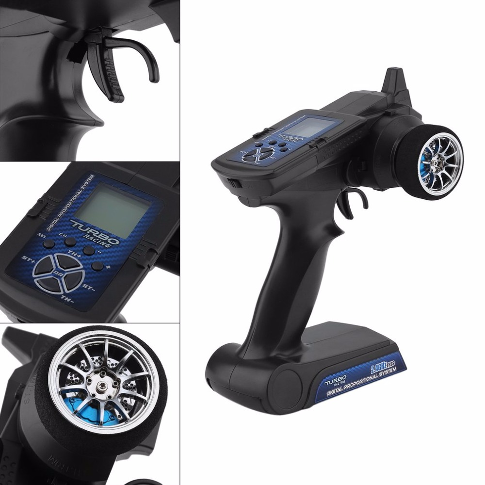1pcs 90700G 2.4GHz 2CH Radio system Transmitter Controller Remote Control w/ Receiver For RC Car Boat<br>