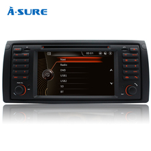 A-Sure Car radio dvd Wince GPS For BMW E39 E53 M5 5 Series E38 E53 with Bluetooth BT Map RDS 3G SWC VMCD Video Audio Palyer(Hong Kong)