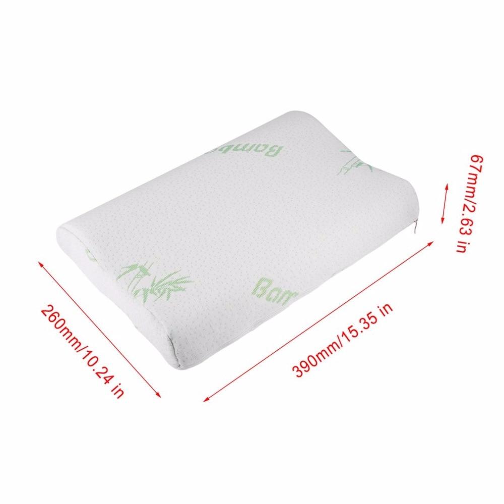 baby children bamboo pillow slow rebound memory foam pillow health