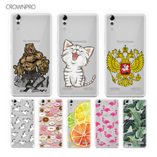 CROWNPRO Soft Silicone Case For Lenovo A6000 K3 Case TPU Patterned Case Back FOR Lenovo A 6000 K3 Cover Case A6010 Plus A6010+