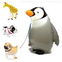 1Pc Dog Animal Helium Walking Balloon Baby Shower Toys Foil Balloon Party/Birthday/Wedding Decorations