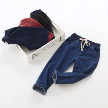 autumn stretch jeans Children's wear pants wholesale manufacturers(China)