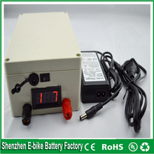 Rechargeable 12v 20ah li-ion battery 18650 lithium ion battery pack for Solar system/LED panel/electric bike/UPS