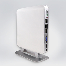 Mini PC E350D Dual Core Processor 1.6GHz Low Power Small Case 4USB Dual Display(China)