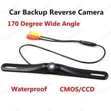 best selling Waterproof CMOS/CCD 170 Degree Wide Angle Reverse Camera Shockproof Backup Car Rear View Camera(China)