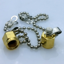golden SMA connector Dust cap with chain SMA connector metal protective cap 10pcs/lot