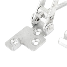 FSLH Cupboard Metal Lever Handle Toggle Catch Latch Lock Clamp Hasp 4.7""