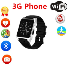 2017 New Arrival X86 Bluetooth Smart Watch Android 5.1 Rom 4G support Sim card 3G Wifi Camera 2MP SIM Card Skype IOS(China)