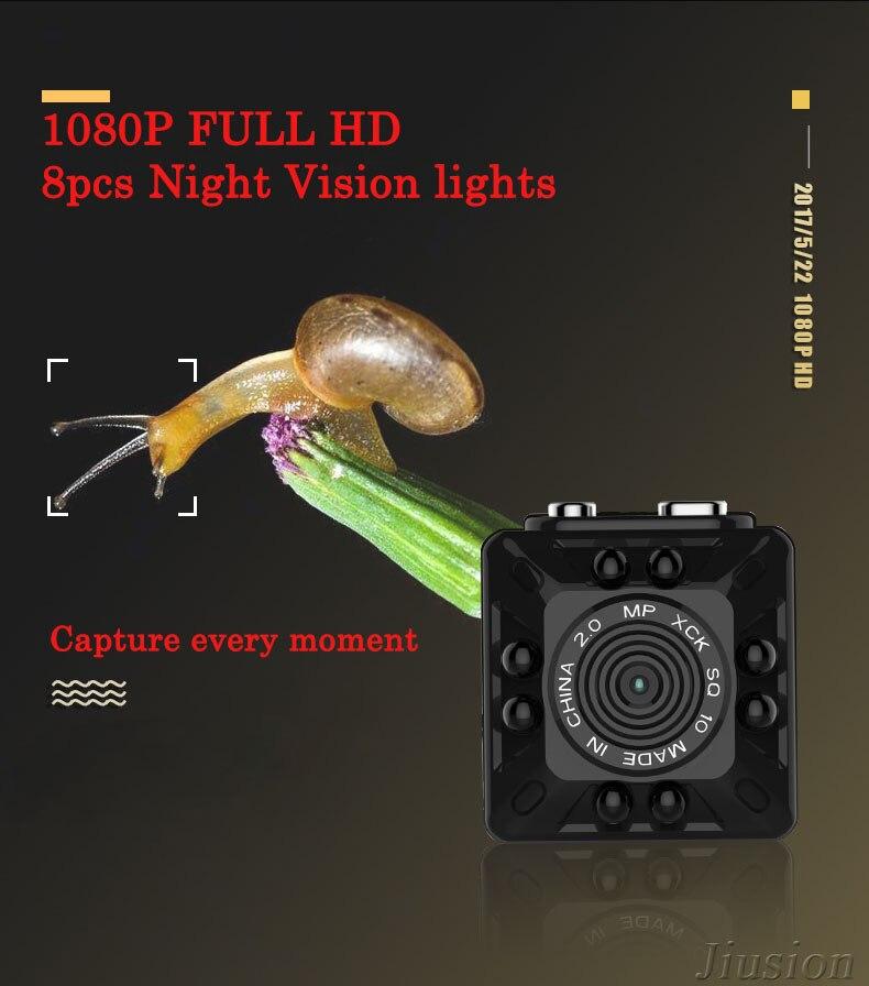 SQ8 Full HD 1080P Mini Camera Cam Micro Night Vision King Motion Detection Sensor Espia Digital Secret Pinhle Security Pinhole