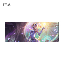 FFFAS 80cm 30cm 2mm Super Huge Grande large Mousepads gamer gaming Mouse pads Keyboard mat for net bars Legends Riven Teemo lol(China)