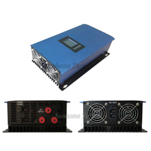 2000W wind grid tie inverter for 3 phase AC wind turbine generator MPPT Pure Sine Wave with LCD&Dump Load resistor,45-90V