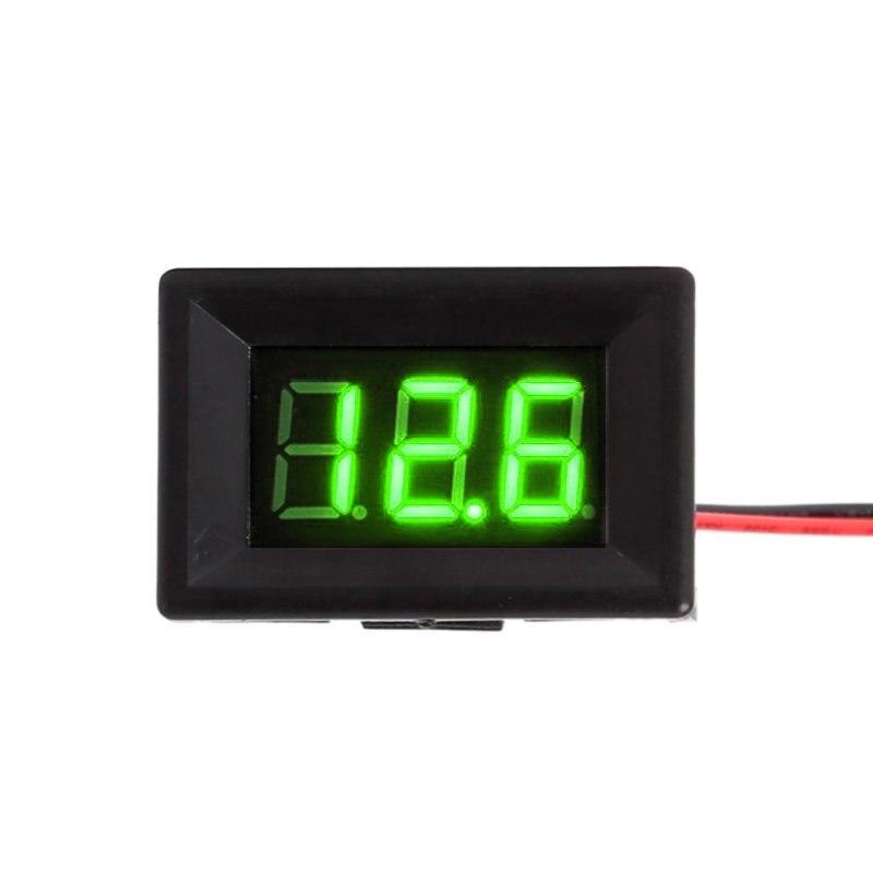 1Pic Voltage Meter 4~30V DC LCD Digital Voltmeter Voltimetro Red LED Amp Volt Meter Gauge<br><br>Aliexpress