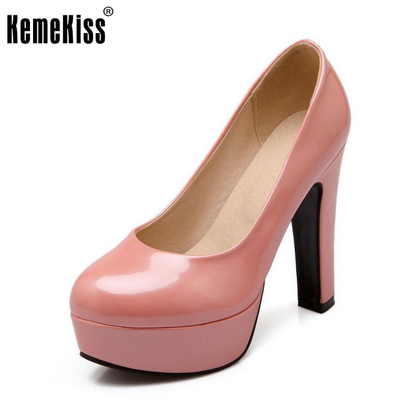 women stiletto high heel shoes sexy lady platform spring fashion heeled pumps heels shoes plus big size 31-47 P16738<br><br>Aliexpress