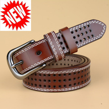 New Arrival Genuine Leather Women Belt Fahion Summer Famale Strap Leather Waistband Belts for Women Luxury Lady Cintos Ceinture(China)