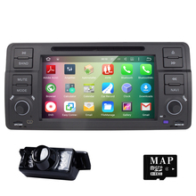 Android 5.1.1 7 Inch Car DVD Player Multimedia For BMW/E46/M3/MG/ZT/3 Series Rover 75 Canbus Wifi GPS Navigation FM Radio Map